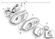 Goto diagram: BMW Classic Motorrad Modell C1 (0191)( ECE ), Category 62.11 Instrument cluster :: Diagram: 62_0386