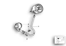 Goto diagram: BMW Classic Motorrad Modell R 1150 R 01 (0429,0439)( USA ), Category 62.11 SPEEDOMETER DRIVE :: Diagram: 62_0402