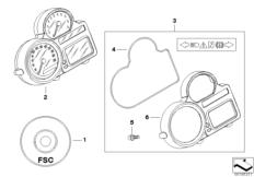 Goto diagram: BMW Classic Motorbike Model R 1200 GS Adve. 10 (0470,0480)( ECE ), Category 62.11 Instrument cluster :: Diagram: 62_0466