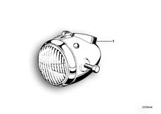Goto diagram: BMW Classic Motorbike Model R75/5( ECE ), Category 63.05 Headlight :: Diagram: 63_0338