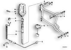 Goto diagram: BMW Classic Motorbike Model R 80 RT( USA ), Category 63.30 Priority vehicle light :: Diagram: 63_0376
