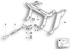 Goto diagram: BMW Classic Motorrad Modell R 1100 R 94 (0402,0407)( USA ), Category 63.12 Headlight bracket :: Diagram: 63_0403