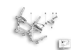 Goto diagram: BMW Classic Motorbike Model R 1150 RT 00 (0419,0499)( USA ), Category 63.17 Marker light bracket :: Diagram: 63_0427