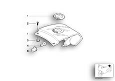 Goto diagram: BMW Classic Motorbike Model K 1200 GT 01 (0548,0558)( USA ), Category 63.21 Rear light :: Diagram: 63_0447