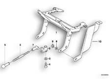 Goto diagram: BMW Classic Motorrad Modell R 1100 R 94 (0402,0407)( USA ), Category 63.12 Headlight bracket, authorities :: Diagram: 63_0450