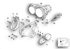 Goto diagram: BMW Classic Motorbike Model R 1150 GS Adv. 01 (0441,0492)( USA ), Category 63.12 Single components for headlight :: Diagram: 63_0580