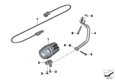 Goto diagram: BMW Classic Motorrad Modell K 1600 GTL (0602, 0612)( ECE ), Category 63.17 LED additional headlight :: Diagram: 63_1369