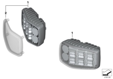 Goto diagram: BMW Classic Motorrad Modell R 1200 RT (0A03, 0A13)( USA ), Category 63.25 LED flashing warning lights :: Diagram: 63_1659