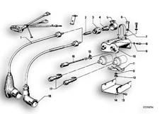 Goto diagram: BMW Classic Motorbike Model R75/5( ECE ), Category 65.25 SUPPRESSING SOCKET :: Diagram: 65_0313