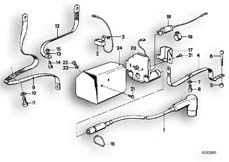 Goto diagram: BMW Classic Motorbike Model R45( ECE ), Category 65.25 Anti-interference kit :: Diagram: 65_0322