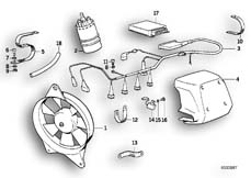Goto diagram: BMW Classic Motorbike Model K 1100 LT (0526, 0536)( ECE ), Category 65.31 Anti-interference kit :: Diagram: 65_0326