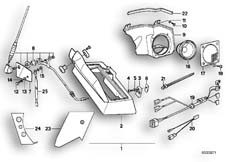 Goto diagram: BMW Classic Motorbike Model R 80 RT( USA ), Category 65.05 RADIO INSTALLING KIT :: Diagram: 65_0330