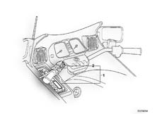 Goto diagram: BMW Classic Motorbike Model K 1100 LT (0526, 0536)( ECE ), Category 65.12 Radio :: Diagram: 65_0343
