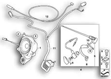 Goto diagram: BMW Classic Motorbike Model R 900 RT 05 SF (0367,0387)( ECE ), Category 65.21 Antenna :: Diagram: 65_1547