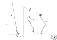 Goto diagram: BMW Classic Motorrad Modell R 1200 RT (0A03, 0A13)( USA ), Category 65.21 Antenna audio system :: Diagram: 65_2613