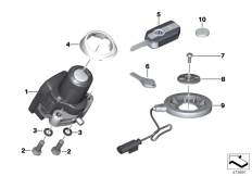 Goto diagram: BMW Classic Motorrad Modell K 1600 GT 17 (0F01, 0F11)( ECE ), Category 66.12 Radio-controlled locking system :: Diagram: 66_0420