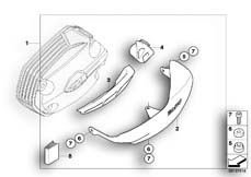 Goto diagram: BMW Classic Motorrad Modell R 1200 GS Adve. 08 (0380,0390)( USA ), Category 77.12 Valve-cover guard, aluminium :: Diagram: 77_0006