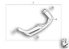 Goto diagram: BMW Classic Motorrad Modell R 900 RT 05 SF (0367,0387)( ECE ), Category 77.12 Valve-cover guard, plastic :: Diagram: 77_0014