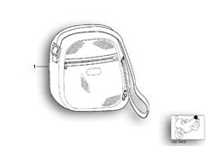 Goto diagram: BMW Classic Motorbike Model K 1200 GT 01 (0548,0558)( USA ), Category 77.43 Bag, topcase 31l :: Diagram: 77_0106