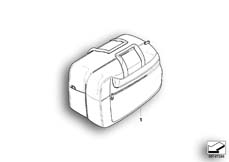 Goto diagram: BMW Classic Motorbike Model R 900 RT 05 SF (0367,0387)( ECE ), Category 77.41 Interior bag f case :: Diagram: 77_0134