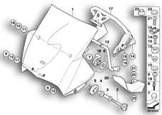 Goto diagram: BMW Classic Motorbike Model R 1200 GS Adve. 10 (0470,0480)( ECE ), Category 77.33 Windshield, tinted :: Diagram: 77_0146