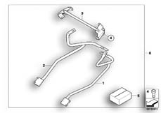 Goto diagram: BMW Classic Motorrad Modell R 1200 S (0366,0396)( ECE ), Category 77.42 SET CASE HOLDER :: Diagram: 77_0160