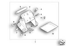 Goto diagram: BMW Classic Motorrad Modell R 900 RT 05 SF (0367,0387)( ECE ), Category 77.52 Mounting parts, BMW Navigator & ZUMO :: Diagram: 77_0236
