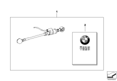 Goto diagram: BMW Classic Motorbike Model S 1000 R 17 (0D52, 0D62)( ECE ), Category 77.25 HP gearshift assistant :: Diagram: 77_0312