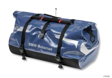 Goto diagram: BMW Classic Motorbike Model R 900 RT 05 SF (0367,0387)( ECE ), Category 77.49 Cylindrical luggage bag 3 :: Diagram: 77_0358