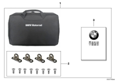 Goto diagram: BMW Classic Motorrad Modell R 1200 RT (0A03, 0A13)( USA ), Category 77.43 Storage compartment, Touring topcase :: Diagram: 77_0393