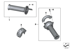 Goto diagram: BMW Classic Motorrad Modell C 650 Sport 16 (0C04, 0C14)( USA ), Category 77.22 Heated handlebar grips :: Diagram: 77_0478