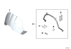 Goto diagram: BMW Classic Motorrad Modell F 800 GS 17 (0B27)( BRA ), Category 77.33 Windscreen, small, clear :: Diagram: 77_0517