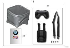 Goto diagram: BMW Classic Motorbike Model F 800 GT (0B03, 0B13)( USA ), Category 77.45 Tank bag :: Diagram: 77_0566