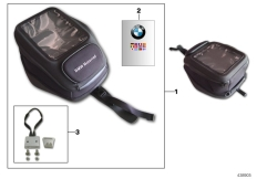 Goto diagram: BMW Classic Motorbike Model S 1000 R 17 (0D52, 0D62)( ECE ), Category 77.45 Tank bag :: Diagram: 77_0568