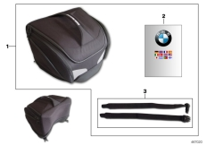 Goto diagram: BMW Classic Motorbike Model S 1000 R 17 (0D52, 0D62)( ECE ), Category 77.49 Rear pocket :: Diagram: 77_0569