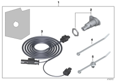 Goto diagram: BMW Classic Motorrad Modell R 1200 GS 17 (0A51, 0A61)( USA ), Category 77.53 Retrofit kit, socket :: Diagram: 77_0583