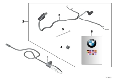 Goto diagram: BMW Classic Motorbike Model S 1000 RR 10 (0507,0517)( USA ), Category 77.51 LED direction indicator :: Diagram: 77_0652