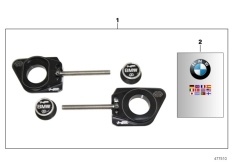 Goto diagram: BMW Classic Motorbike Model S 1000 RR 10 (0507,0517)( ECE ), Category 77.02 Set, HP Race chain tensioner :: Diagram: 77_0700