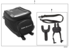 Goto diagram: BMW Classic Motorrad Modell R 1200 RS (0A05, 0A15)( USA ), Category 77.45 Tank bag, small :: Diagram: 77_0709