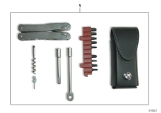 Goto diagram: BMW Classic Motorrad Modell R 900 RT 05 SF (0367,0387)( ECE ), Category 77.02 Multifunction tool :: Diagram: 77_0831