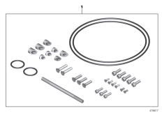 Goto diagram: BMW Classic Motorrad Modell R nineT Pure (0J11, 0J13)( USA ), Category 77.12 Spare part kit Machined parts :: Diagram: 77_0884