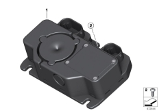 Goto diagram: BMW Classic Motorrad Modell R nineT Pure (0J11, 0J13)( USA ), Category 77.53 Alarm system :: Diagram: 77_0887
