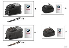 Goto diagram: BMW Classic Motorbike Model R nineT (0A06, 0A16)( USA ), Category 77.49 Tank bag :: Diagram: 77_0910