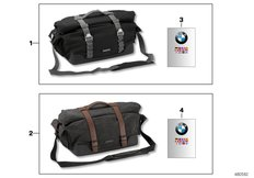 Goto diagram: BMW Classic Motorrad Modell R nineT Pure (0J11, 0J13)( USA ), Category 77.49 Rear pocket :: Diagram: 77_0911
