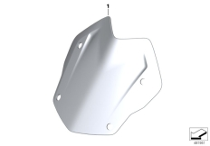 Goto diagram: BMW Classic Motorrad Modell R 1200 GS 17 (0A71)( BRA ), Category 77.33 Windscreen Rallye, tinted :: Diagram: 77_0940