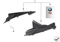 Goto diagram: BMW Classic Motorbike Model S 1000 RR 10 (0507,0517)( ECE ), Category 77.31 HP Carbon plaque holder :: Diagram: 77_0956